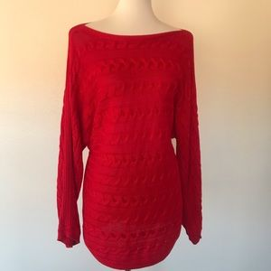 Lauren by Ralph Lauren Red Sweater